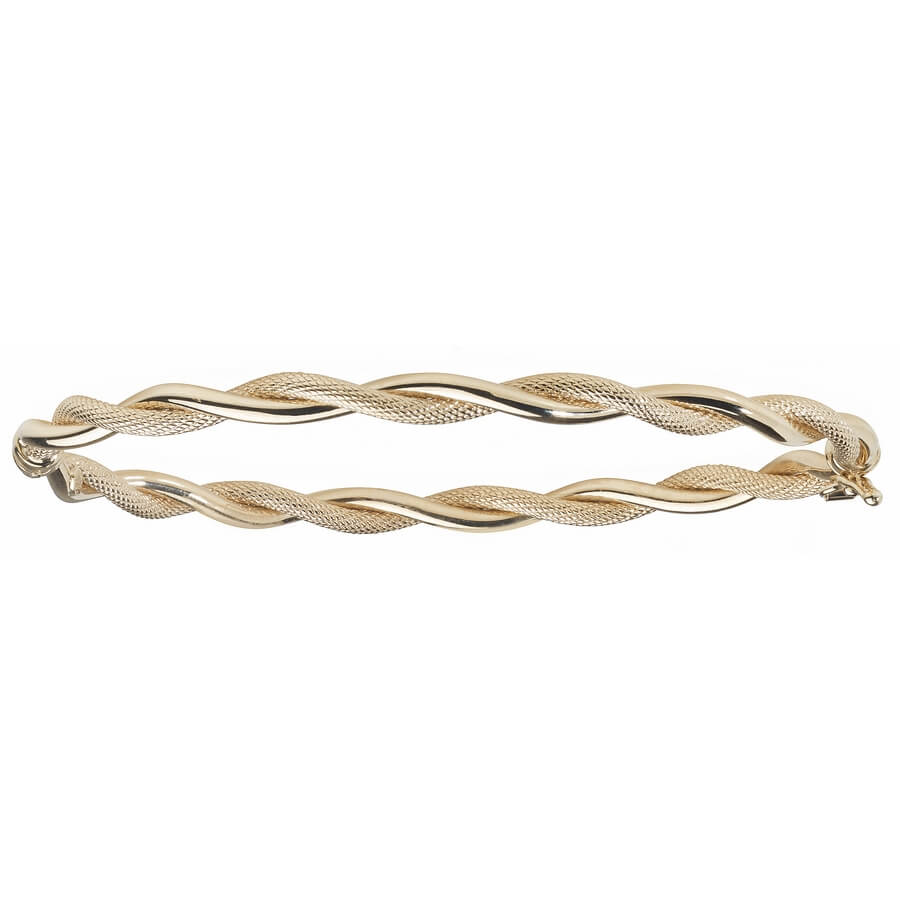 jewellery square jewellers image bangles bracelets finnies gold hinged yellow the bangle plain flat