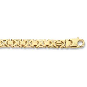 Byzantine Style Gold Bracelet in 9ct Yellow Gold VARIATION