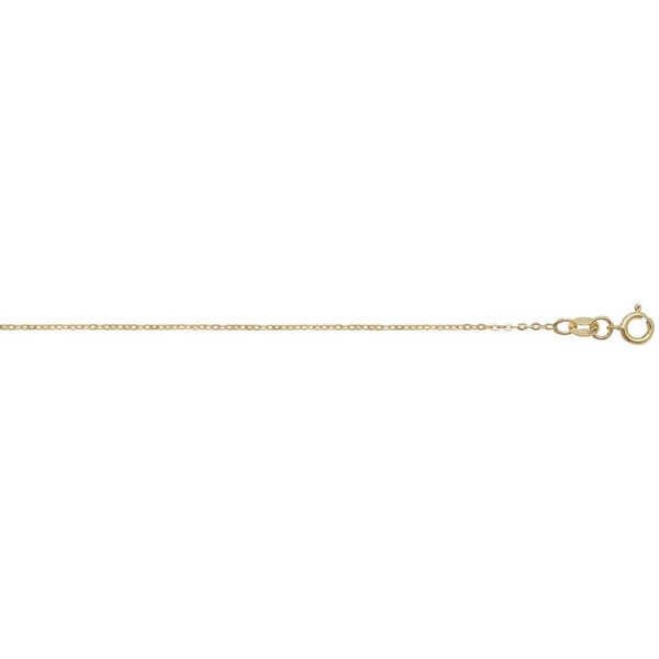 18ct Yellow Gold Trace Chain Lengths 16 to 20 inches