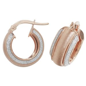 9ct Red Gold Earrings