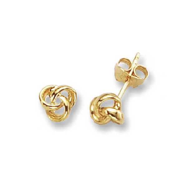 9ct Yellow Gold Stud Earrings