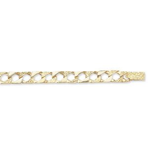Childs 5.5inch Cast Chain Gold Bracelet