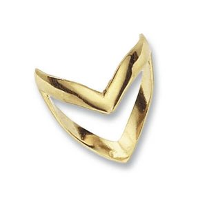 Wishbone Ring made in 9ct Yellow Gold